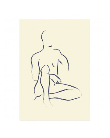 L'HOMME BLEU Limited Print By Garmi