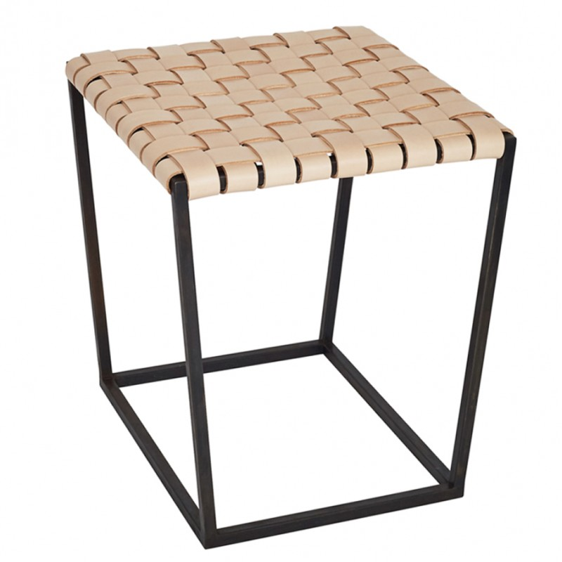 Skandivis Alp Design Leather Alp Stool