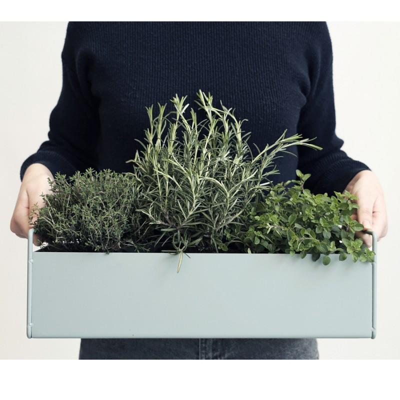 Small Ferm Living Plant Box, Dusty Blue