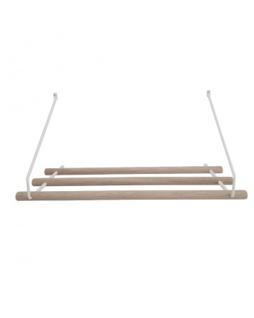 White Hat Rack By Nordic Function