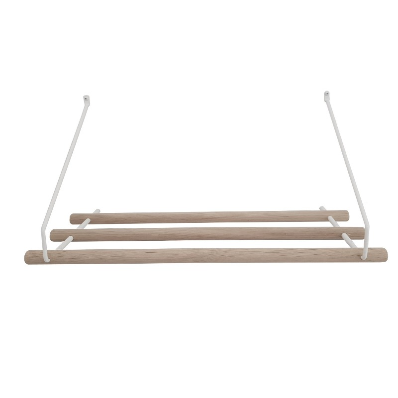 White Hat Rack and Coat Hanger By Nordic Function