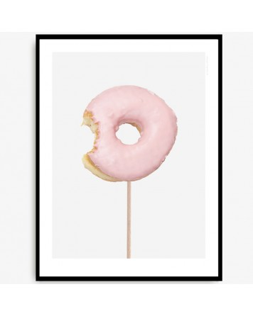 Donut Poster by Kreativitum