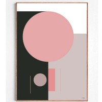 Smell Of Wood, Geometric Print By Cdesign