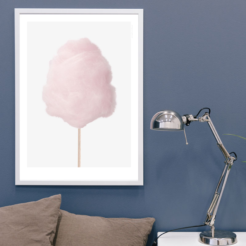 Skandivis Kreativitum Cotton Candy Poster