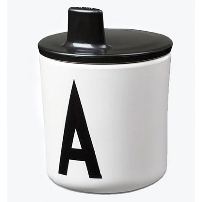 Design Letters Melamine Cup with or without Lid