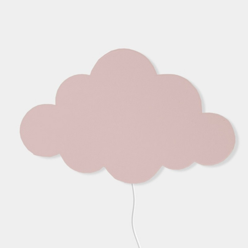 Ferm Living Danish Design Cloud Light, Rose By Ferm Living