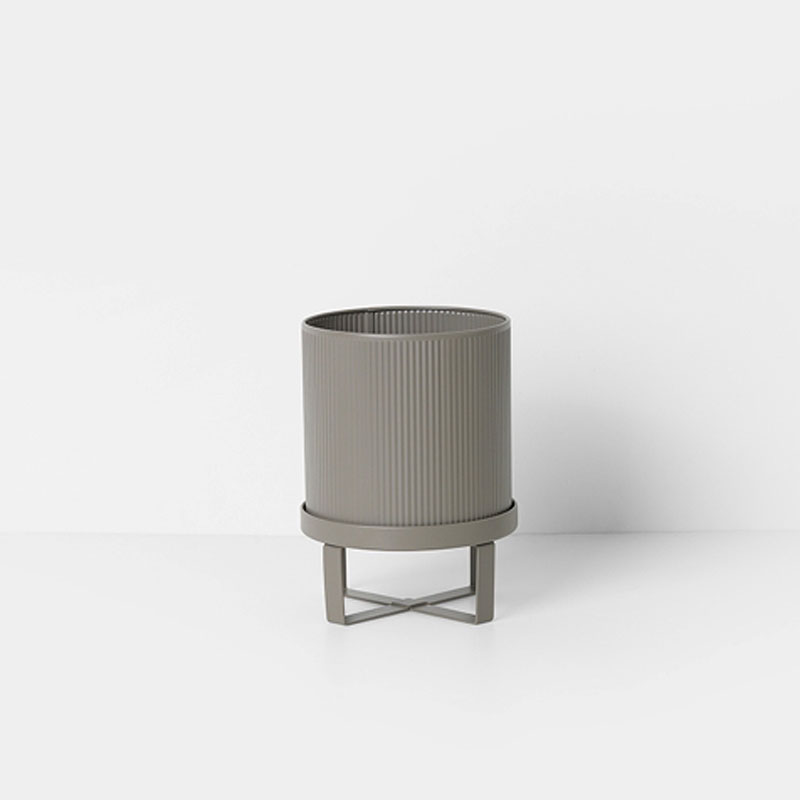 Skandivis Ferm Living Danish Design Bau Pot Small Warm Grey