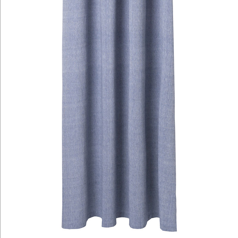 Blue Chambray Shower Curtain By Ferm Living