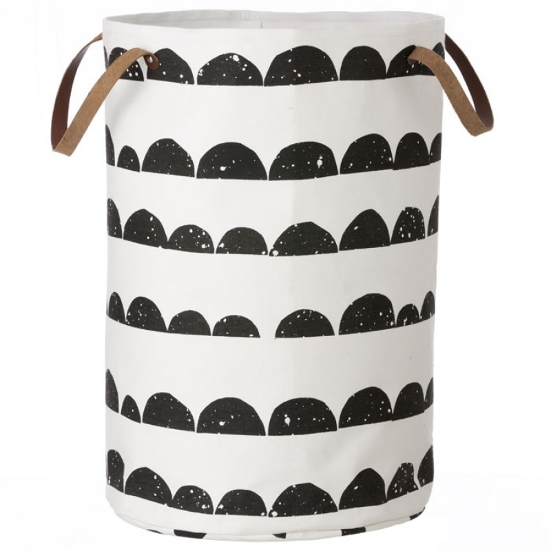 Skandivis Ferm Living Danish Design Ferm Half Moon Laundry Basket