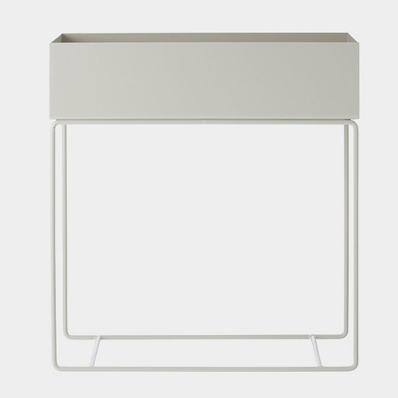 Skandivis Ferm Living Danish Design Ferm Living Plant Box Large, Light Grey