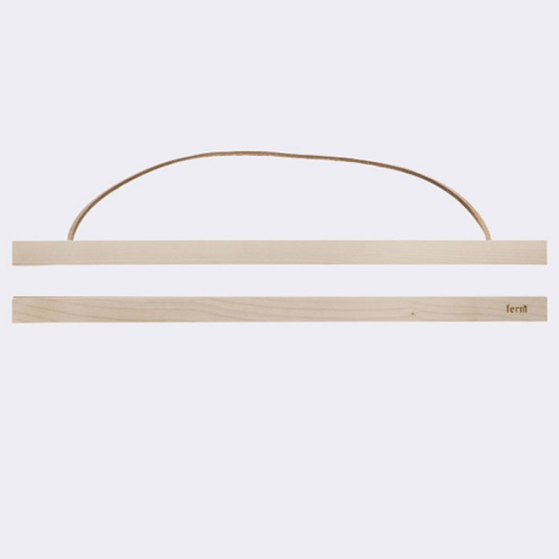 Skandivis Ferm Living Danish Design Ferm Living Wooden Frame Light 50x70cm