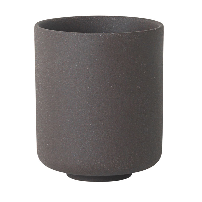 Ferm Living Danish Design Large Sekki Cup, Charcoal