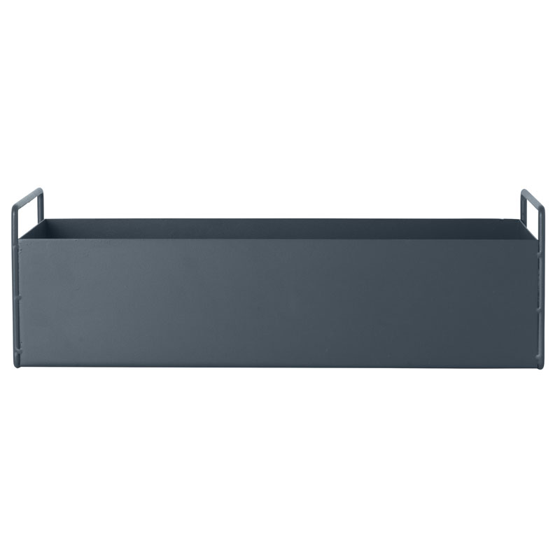 Skandivis Ferm Living Danish Design Ferm Living Window Box Dark Grey, Small