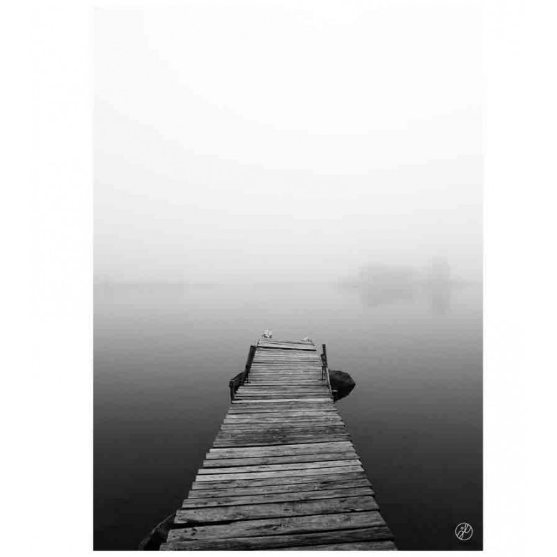 Johanna Lehtinen, Fog On The Pier B/W