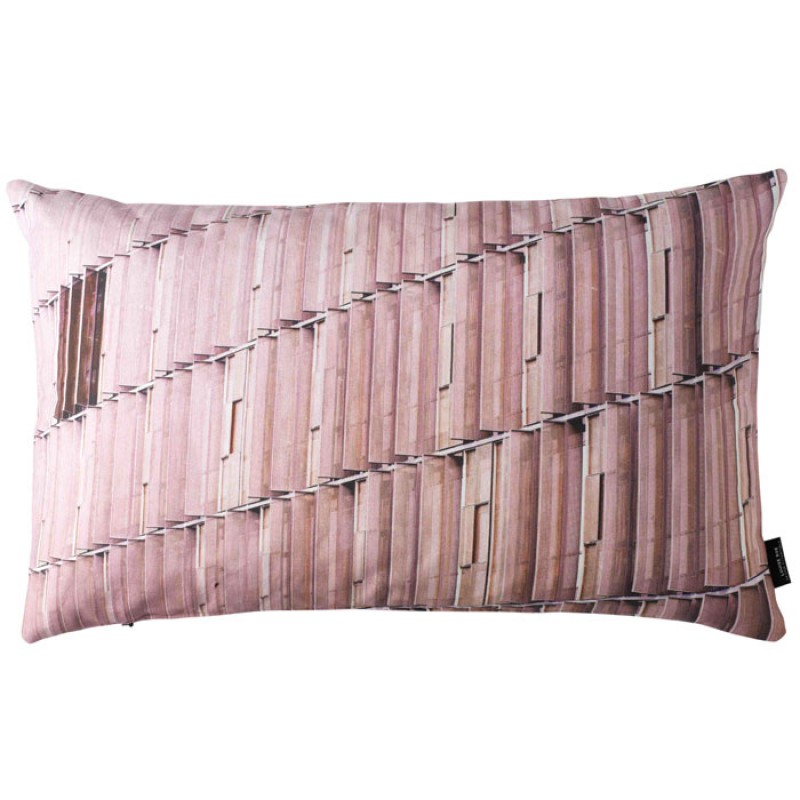 Skandivis Louise Roe Cushion In Dusty Pink Shades