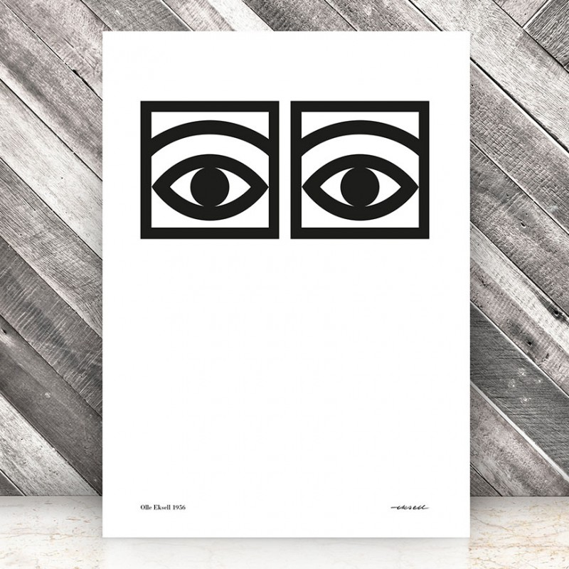 Ögon Cacao -- One Eye Poster