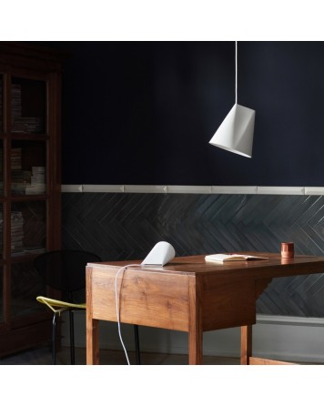 Wide Ceramic Pendant Light By Moebe