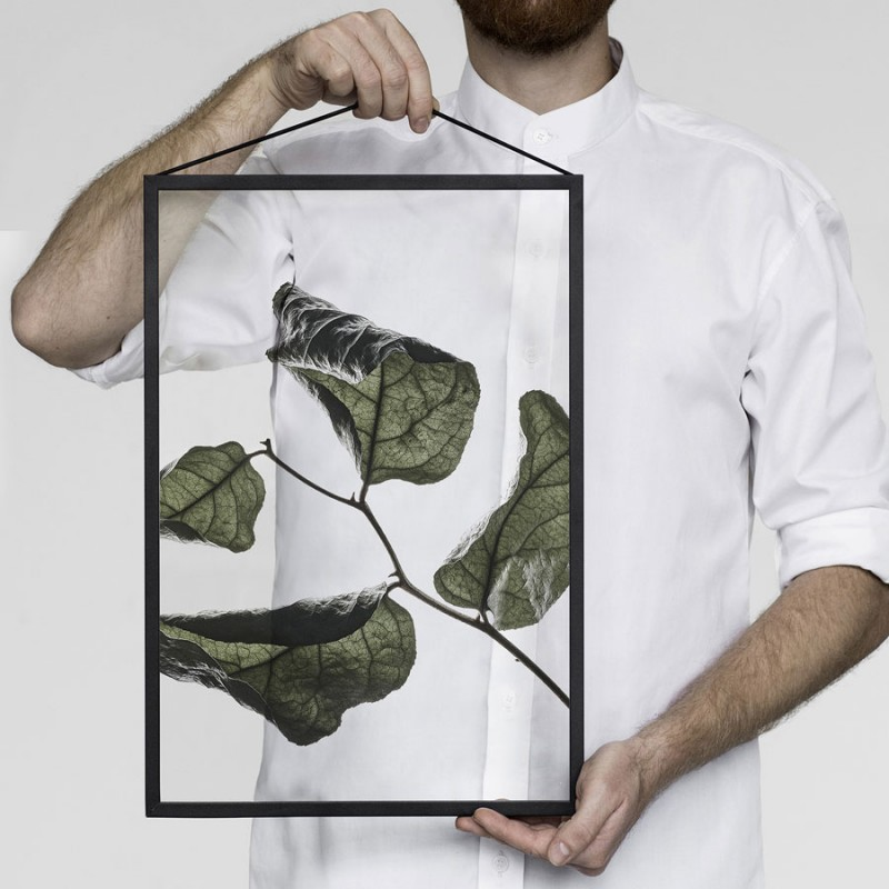 Skandivis Floating Leaves Print 03, Size A4