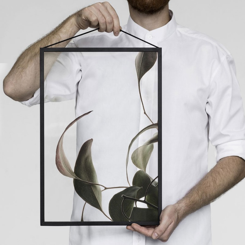 Skandivis Floating Leaves Print 08, Size A4