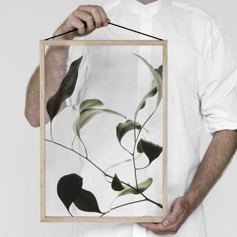 Skandivis Floating Leaves Print 09, Size A4