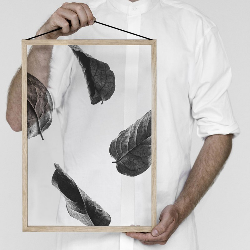 Skandivis Floating Leaves Print 02, Size A4