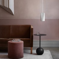 Narrow Ceramic Pendant Light By Moebe
