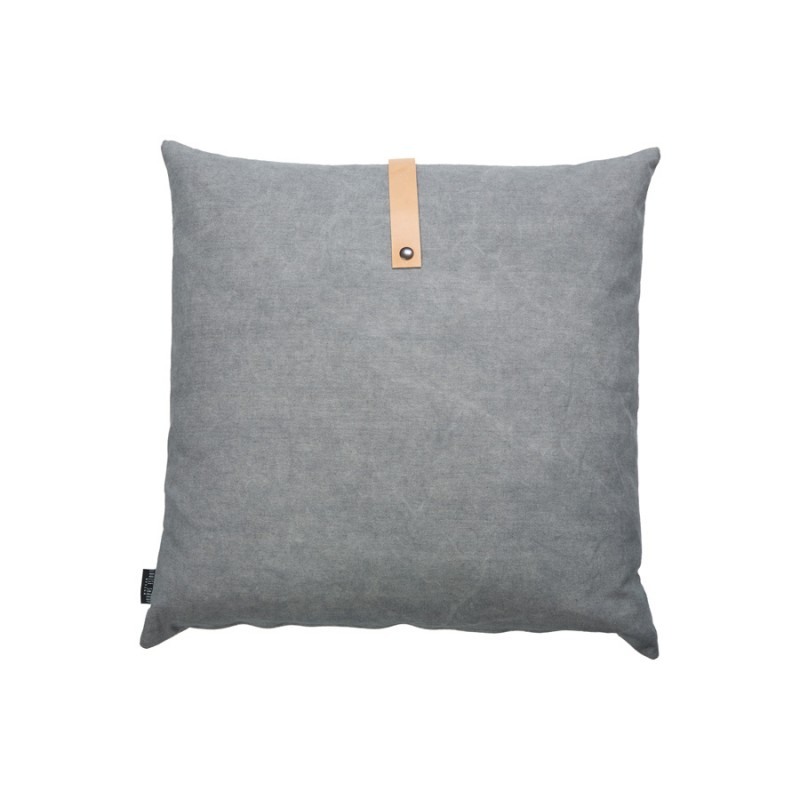 Louise Smaerup Dark & Light Grey Cushion 50x50cm