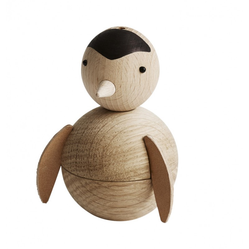 Skandivis Oyoy Living Design Oyoy Penguin With Leather Wings