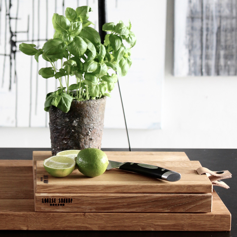 Solid Oak Cutting Board By Louise Smaerup