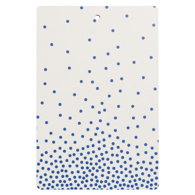 Oyoy Living Design Oyoy Cutting Board Blue & White