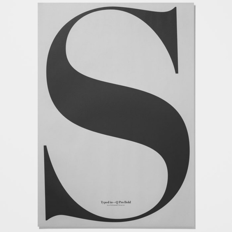 Skandivis PlayType Playtype Poster In Love With Typography S