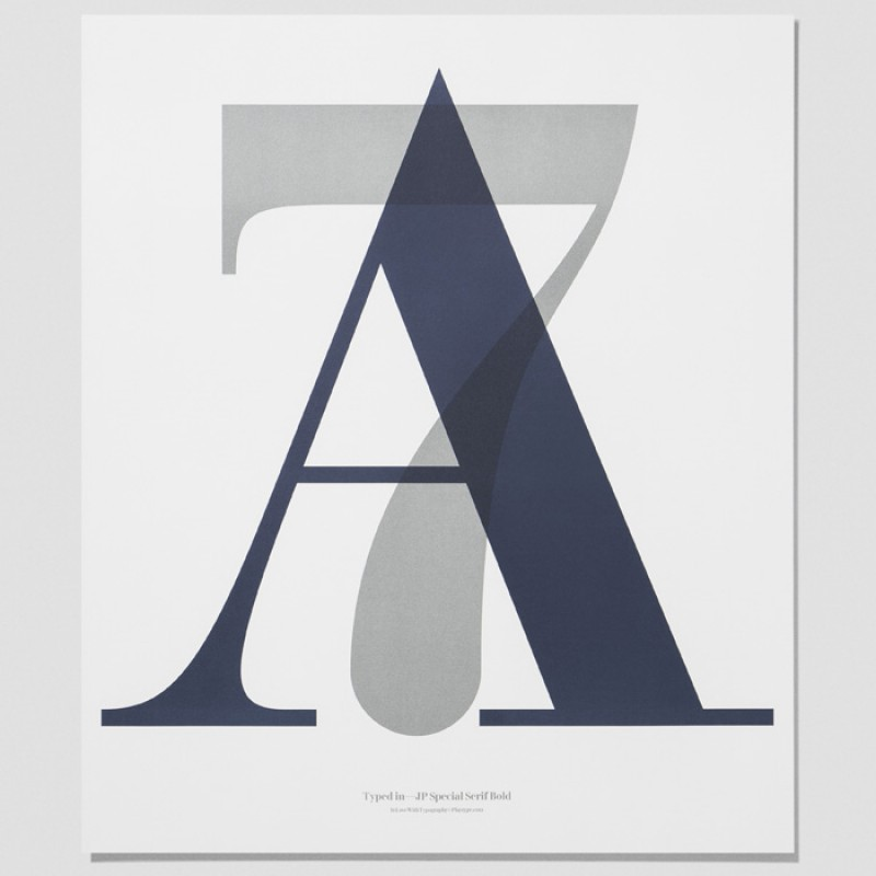 Playtype Poster A7