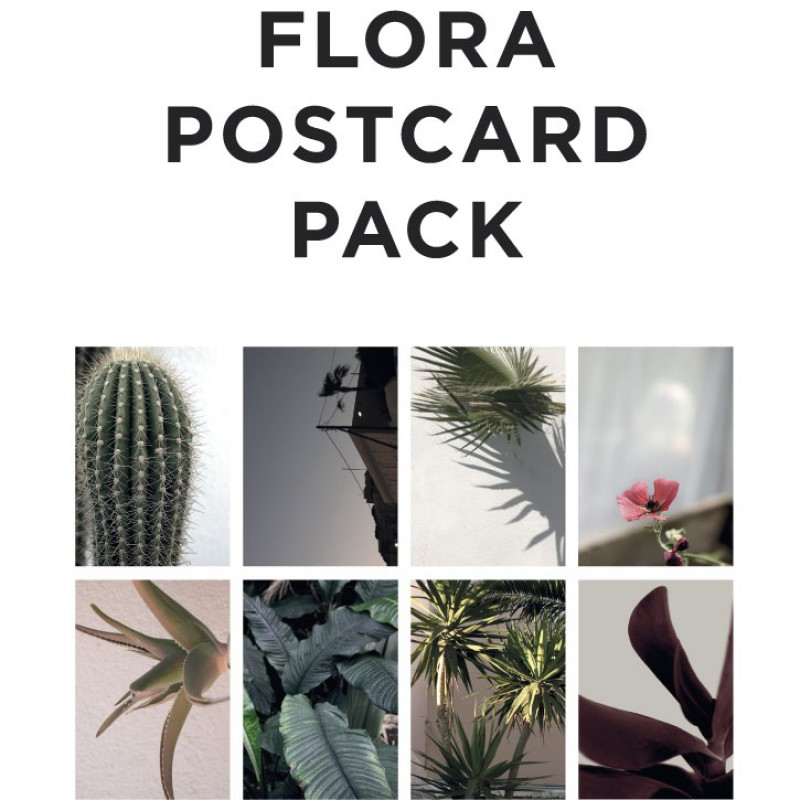 By Garmi Flora Postcard Pack 2