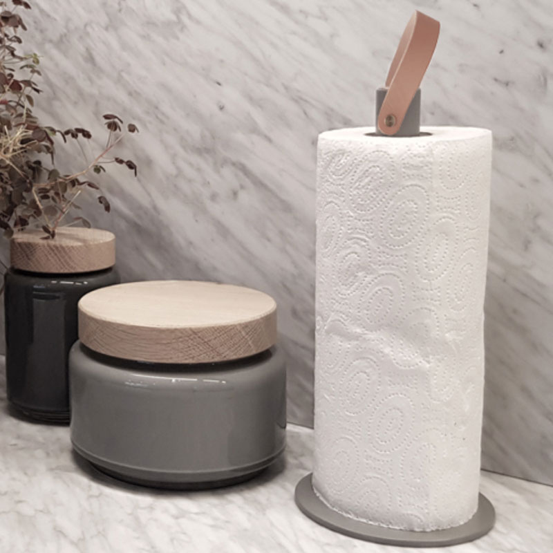 Grey 2Grab Kitchen Roll Holder