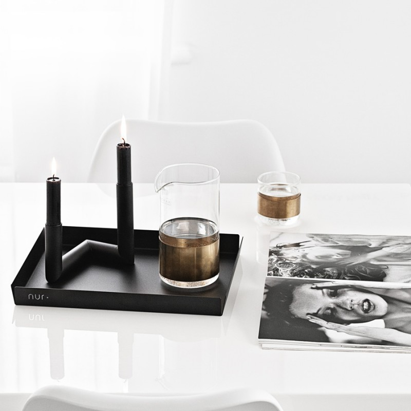 Skandivis Nur Design Nur Pipeline Candle Holder