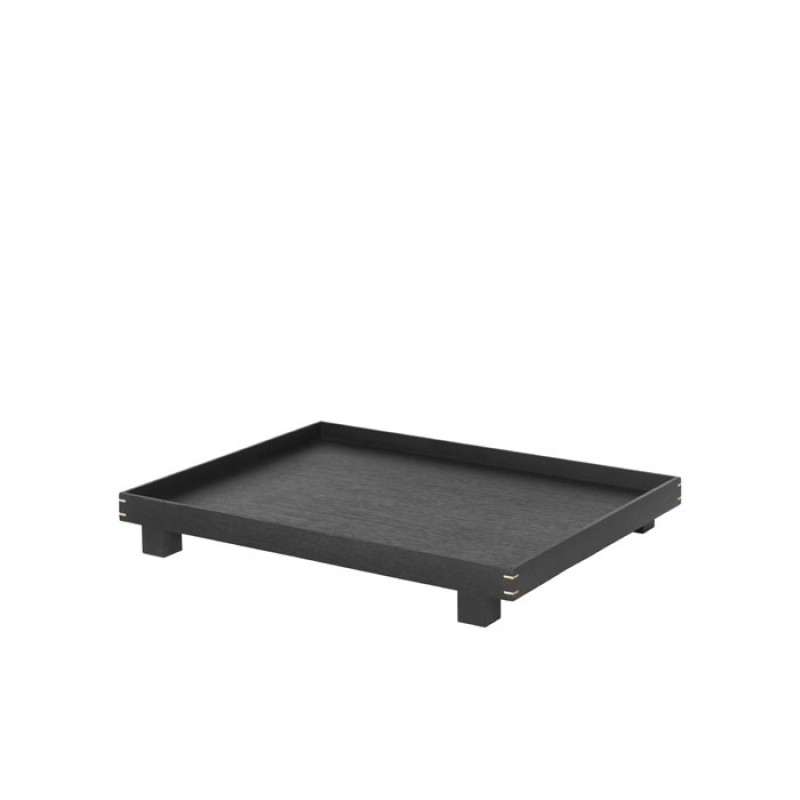 Bon Wooden Tray Large - Stained Black