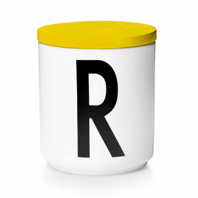 Yellow Lid for Design Letters Cup