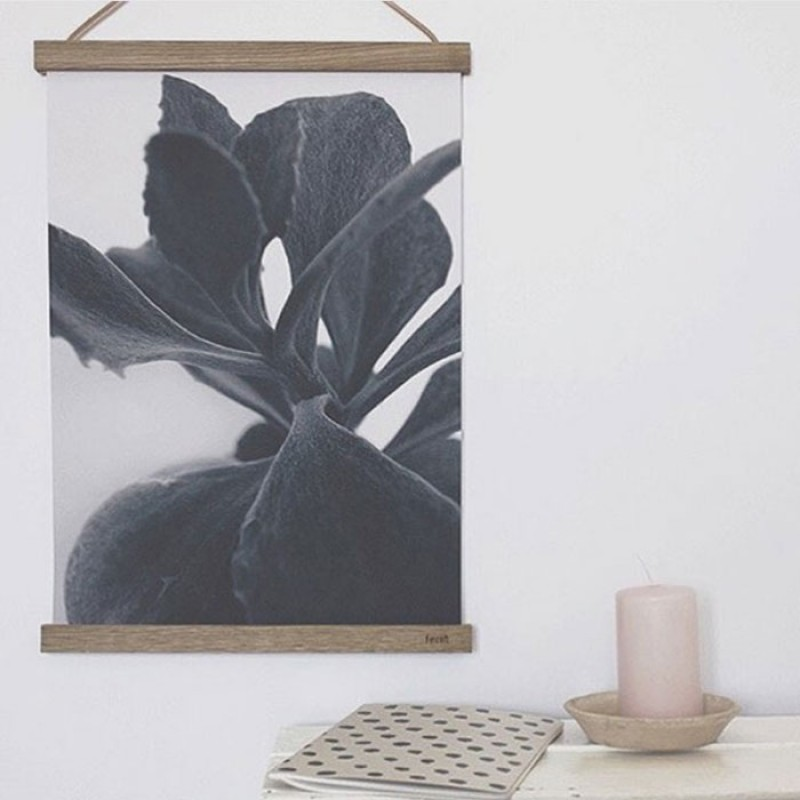Skandivis Ferm Living Danish Design Ferm Living Wooden Frame Dark 50x70cm