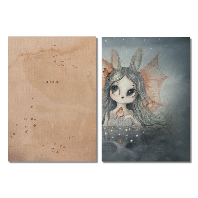 Skandivis Mrs Mighetto Miss Bianca 2-Pack Notebooks , The Lake Stories by Mrs Mighetto