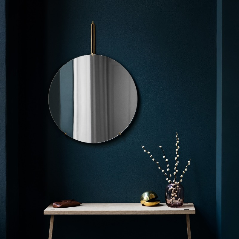 Moebe Round Wall Mirror 50cm