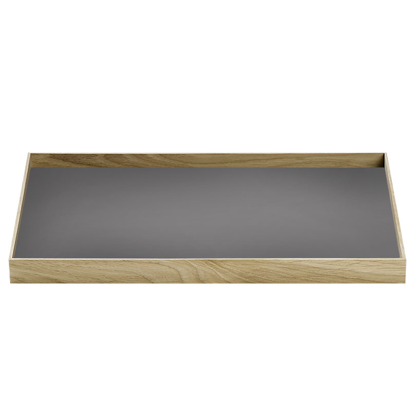 Skandivis Munk Design Collective Medium Frame Tray In Warm Grey - Munk Collective