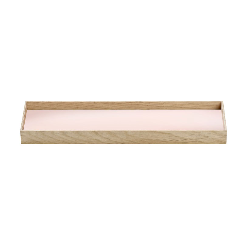 Skandivis Munk Design Collective Small Frame Tray In Soft Nude Colour - Munk Collective