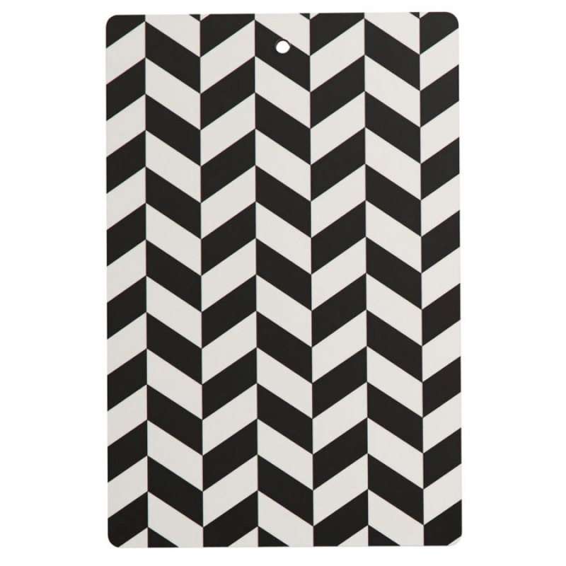 Skandivis Oyoy Living Design Oyoy Black & White Cutting board