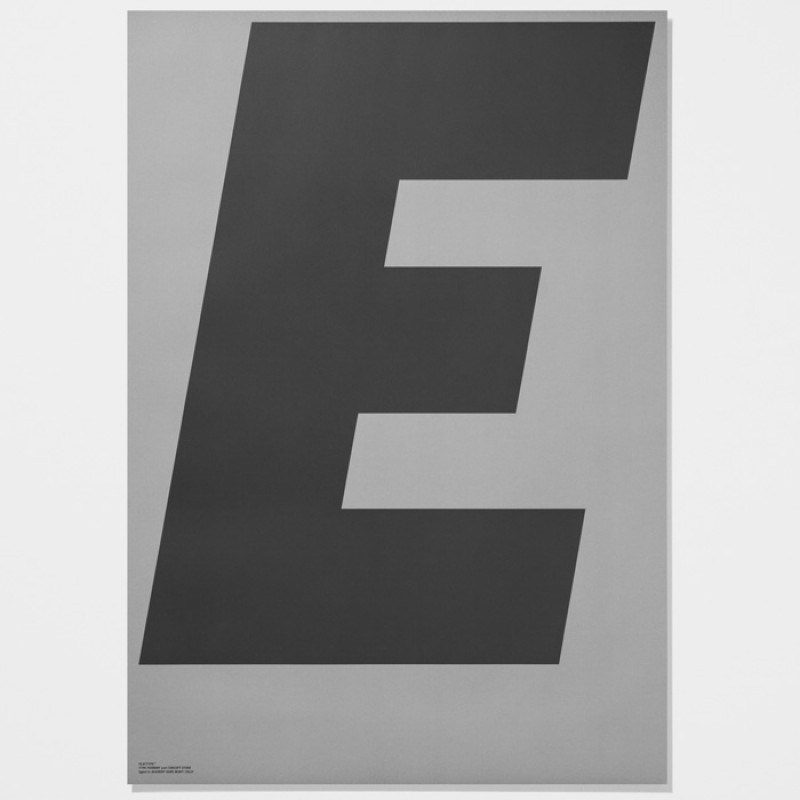 Playtype Poster E