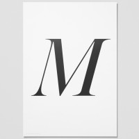 Playtype Poster M