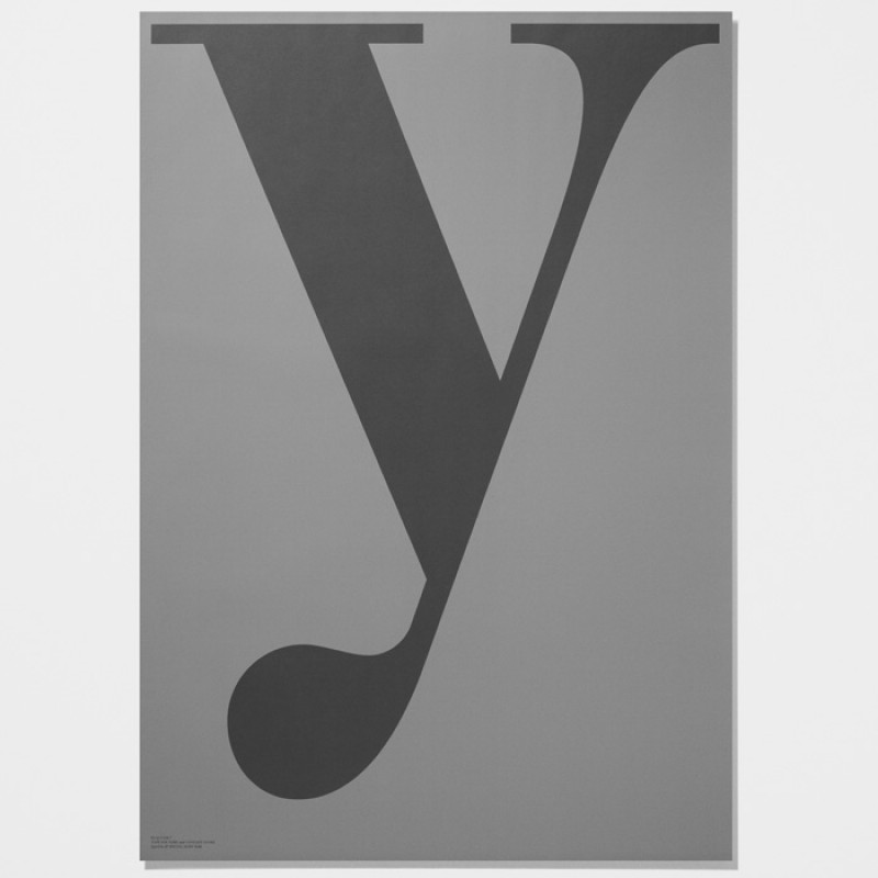 Playtype Poster y