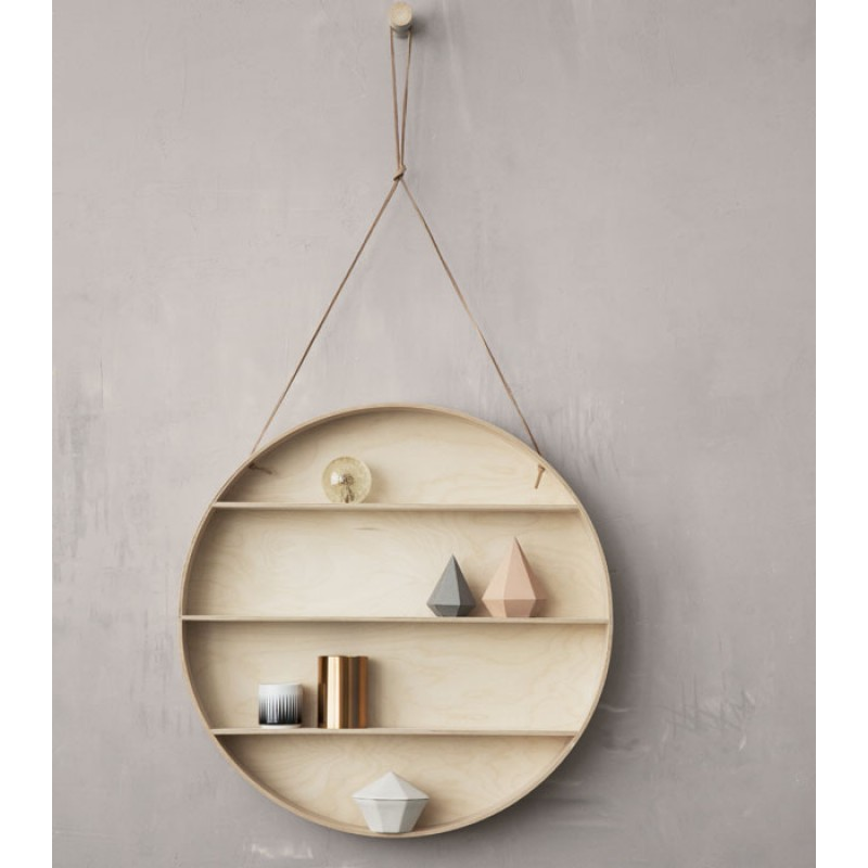 Skandivis Ferm Living Danish Design Ferm Round Dorm Shelf