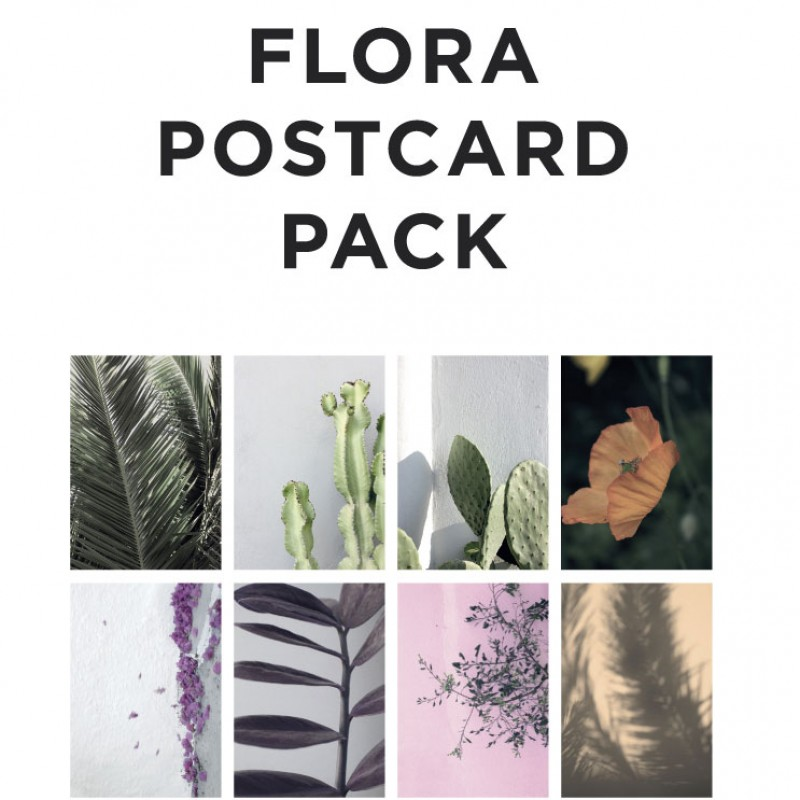 Flora A5 Cards,  Style 1