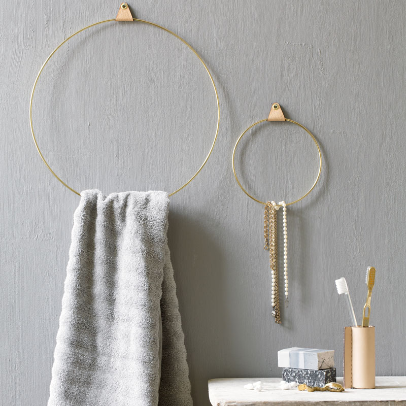 Bathroom Brass Ring By Strups