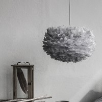Medium Eos Feather Light Shade - Grey By Umage